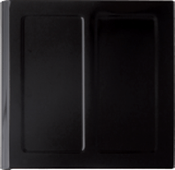 Black Porcelain Enamel panel