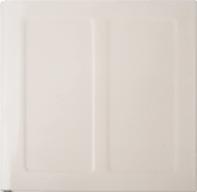 Ivory Porcelain Enamel panel