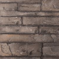 Ledgestone firebox panel swatch