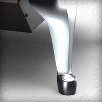 Brushed Nickel Legs