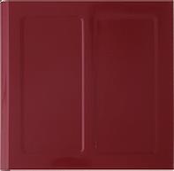 Sunset Red Porcelain Enamel panel