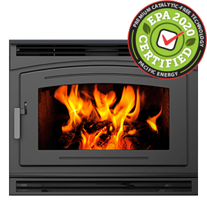 FP30 Arch LE zero clearance catalytic free wood burning fireplace