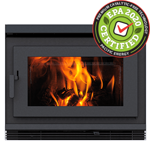 FP30 LE zero clearance catalytic free wood burning fireplace